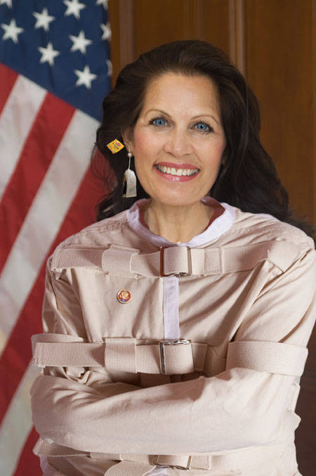 Asshole of the Month: Michelle Bachman By Corey Adam